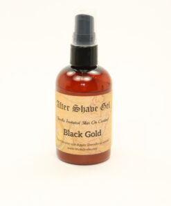 after shave gel black gold 4oz