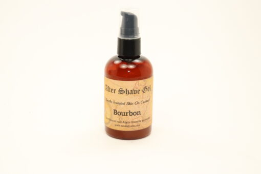 after shave gel bourbon 4oz