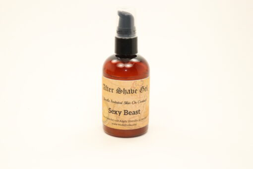 after shave gel sexy beast 4oz