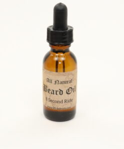 beard oil 8 second ride 1oz