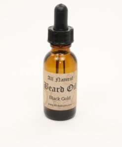 beard oil black gold 1oz