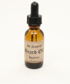 beard oil bourbon 1oz