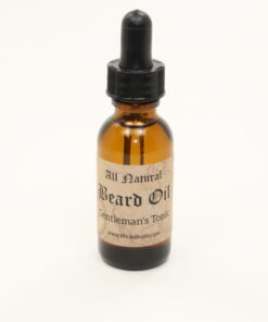 beard oil gentlemans tonic 1oz
