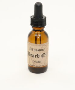 beard oil nude 1oz