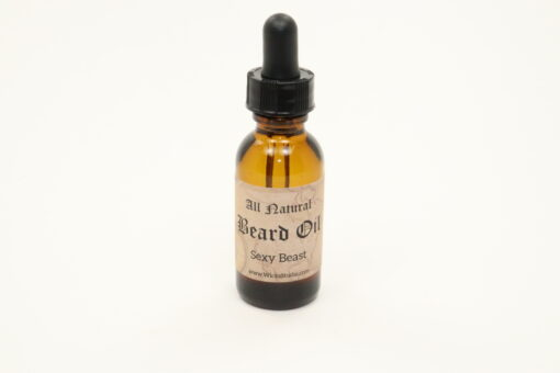 beard oil sexy beast 1oz