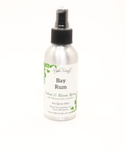 fabric room spray bay rum 4oz