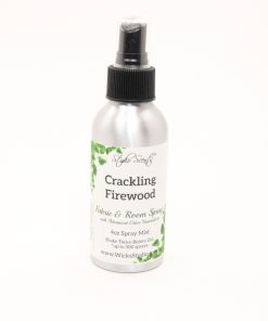 fabric room spray crackling firewood