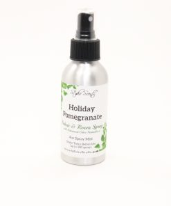 fabric room spray holiday pomegranate 4oz