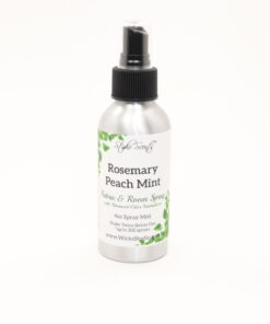 fabric room spray rosemary peach mint 4oz