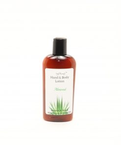 hand body lotion almond 4oz