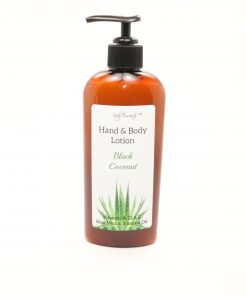 hand body lotion black coconut 8oz