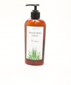 hand body lotion bourbon 8oz