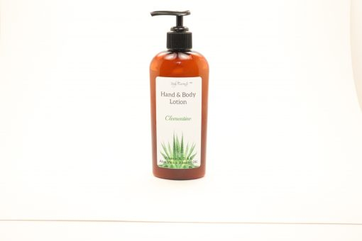 hand lotion body clementine 8oz