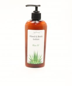 hand body lotion kiss it 8oz
