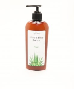hand body lotion nude 8oz
