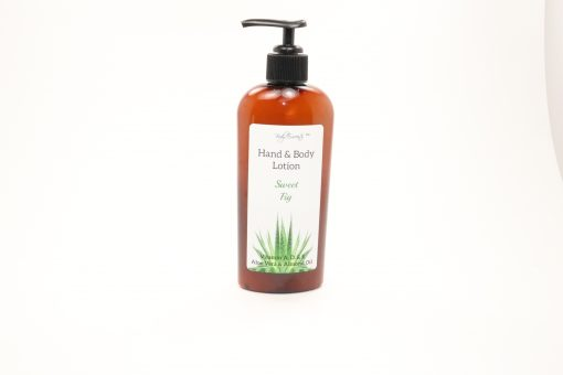hand body lotion sweet fig 8oz