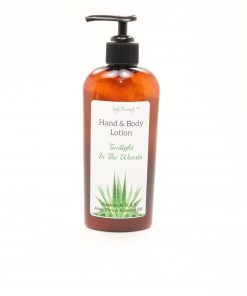 hand body lotion twilight in the woods 8oz
