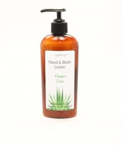 hand body lotion ginger lime 8oz