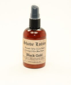 shave lotion black gold 4oz