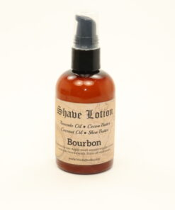 shave lotion bourbon 4oz
