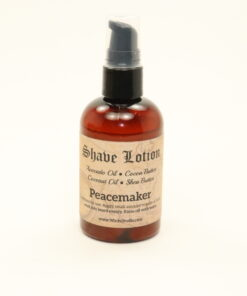 shave lotion peacemaker 4oz