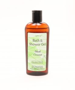 bath shower gel black coconut 8oz