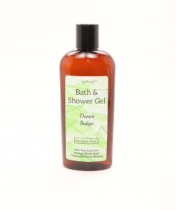 bath shower gel denim indigo 8oz