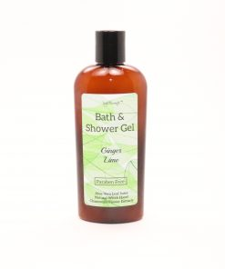 bath shower gel ginger lime 8oz