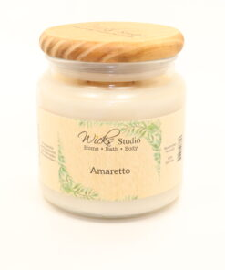 comfort candle amaretto 16oz