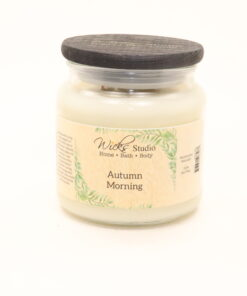 comfort candle autumn morning 16oz