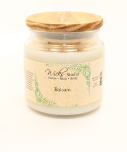 comfort candle balsam 16oz