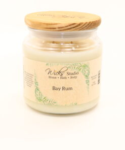 comfort candle bay rum 16oz