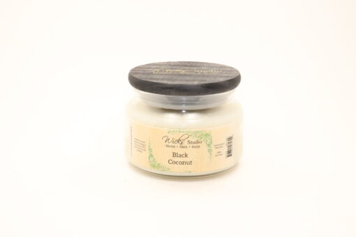 comfort candle black coconut 10oz