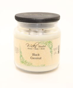 comfort candle black coconut 16oz
