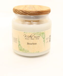 comfort candle bourbon 16oz