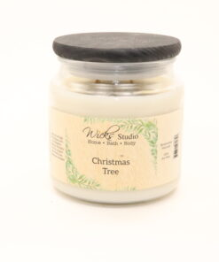 comfort candle christmas tree 16oz