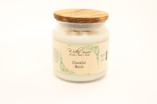 comfort candle cracklin birch 16oz