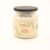 comfort candle frosted pinecones 16oz