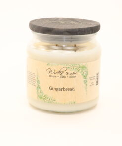 comfort candle gingerbread 16oz