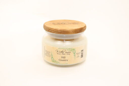 comfort candle hill country 10oz