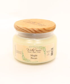 comfort candle maple pecan 10oz