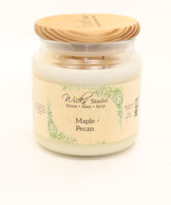 comfort candle maple pecan 16oz