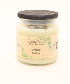 comfort candle orange cream 16oz
