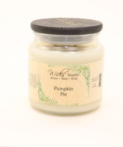 comfort candle pumpkin pie 16oz
