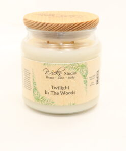 comfort candle twilight in the woods 16oz