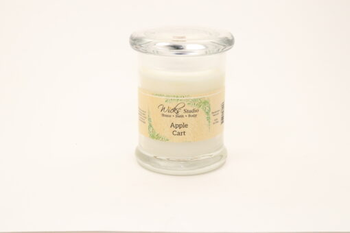 status candle apple cart 8oz
