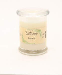 status candle banana 8oz
