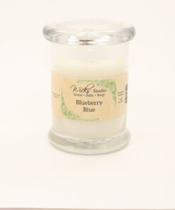 status candle blueberry blue 8oz