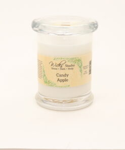 status candle candy apple 8oz
