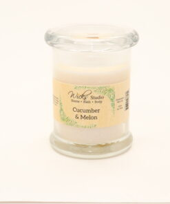status candle cucumber melon 8oz